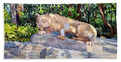 The Nittany Lion Beach Towel