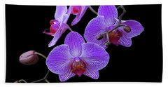 The Orchids Beach Towel