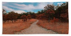 The Path To Enlightenment Beach Towel