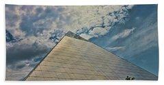 The Pyramid - Memphis Beach Towel