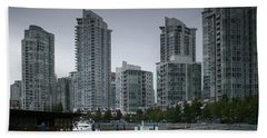 The Quayside Marina - Yaletown Apartments Vancouver Beach Towel
