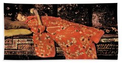 The Red Kimono - Top Quality Image Edition Beach Towel