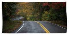 The Road To Friends Lake Beach Towel