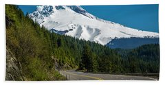 The Road To Mt. Hood Beach Towel