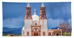 The Shrine Of The Stations Of The Cross Beach Towel