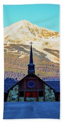Beach Towel featuring the photograph The Soldiers Chapel by Pete Federico