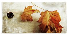Beach Towel featuring the photograph The Sound Of Autumn by Randi Grace Nilsberg