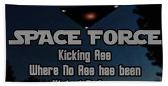 The United States . Space Force Beach Towel
