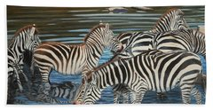 The Watering Hole Beach Towel