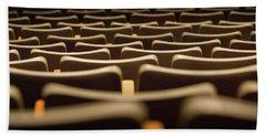Theater Seats Beach Sheet