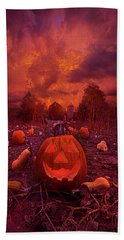Beach Towel featuring the photograph This Is Halloween by Phil Koch