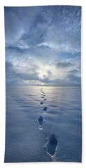 Beach Towel featuring the photograph This Is When I Carried You by Phil Koch