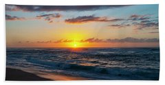 This Is Why They Call It Sunset Beach Beach Towel