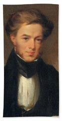 Portrait Of Thomas Ustick Walter, 1835 Beach Towel