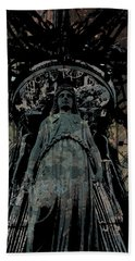 Three Caryatids Beach Towel