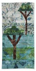 Three Trees Beach Towel