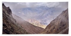 Beach Towel featuring the photograph Through The Valley by Whitney Goodey
