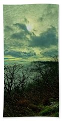 Thunder Mountain Clouds Beach Towel