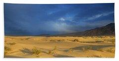 Thunder Over The Desert Beach Sheet