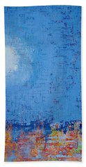 Tidepool Original Painting Sold Beach Towel