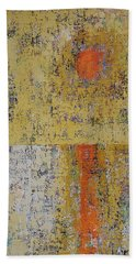 Tidepool Reflection Original Painting Sold Beach Towel