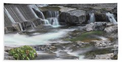 Tiger Creek In Fall #2 Beach Towel