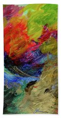 Time Changes Beach Towel