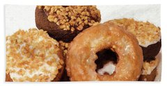 Beach Towel featuring the photograph Time To Eat The Donuts by Andee Design