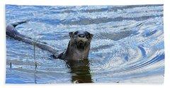 To My Otter Amazement Beach Sheet