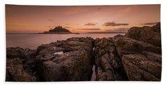 To The Sunset - Marazion Cornwall Beach Towel