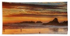 Tofino Beach Sunset 1 Beach Towel