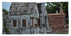Tombs And Graves Beach Towel