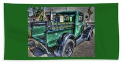 Tom's Electric Truck Beach Sheet