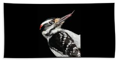 Tongue Of Woodpecker Beach Towel