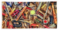 Tools In Color Beach Sheet