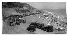 Topanga State Beach 1920 Beach Sheet