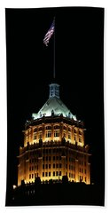 Tower Life Building Beach Towel