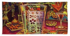 Trader Vic Mai Tai Beach Towel