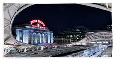 Travel By Train - Union Station Denver #2 Beach Towel
