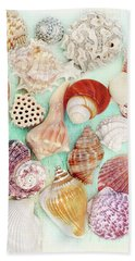Treasures From The Sea  Beach Towel