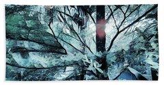 Tree Of Glass Beach Towel