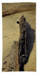 Tree On Edge Beach Towel