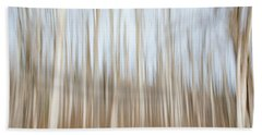 Trees On The Move Beach Towel