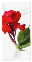 Tropical Bouquet-flower Three Beach Towel