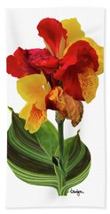 Tropical Bouquet-flower Two Beach Towel