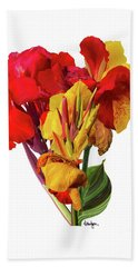 Tropical Bouquet Beach Towel