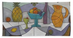 Tropical Delights Beach Towel