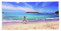 Tropical Spring Beach Towel