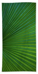 Tropical Leaf Beach Towel