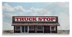 Truck Stop Beach Towel